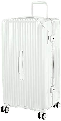 [カーゴ] スーツケース 大型 スリムフレーム 多機能モデル CAT88SSR 保証付 98L 78 cm 6kg グロスホワイト