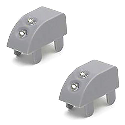 ZooooM 2個セット 振動 感知 LED ライト センサー 棚 照明 キッチン クローゼット 扉 蝶番 スライド 丁番 簡単 カンタン 便利 暗い 戸棚 省スペース 小型 コンパクト 設置 両面テープ 電池 式 (グレー) ZM-SINKURO-GY