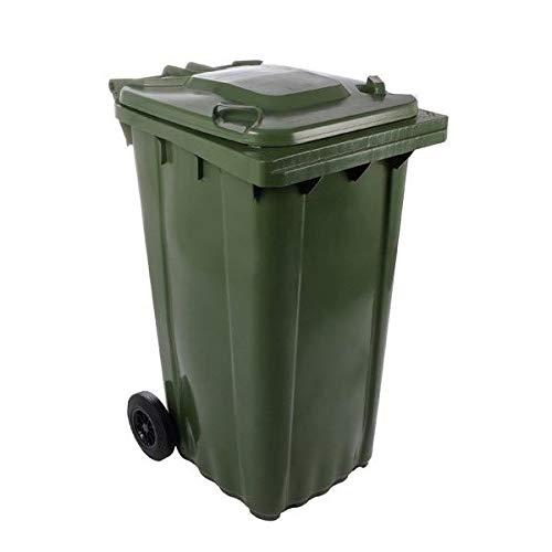 SSI Contenedor Basura 240 litros Color Verde