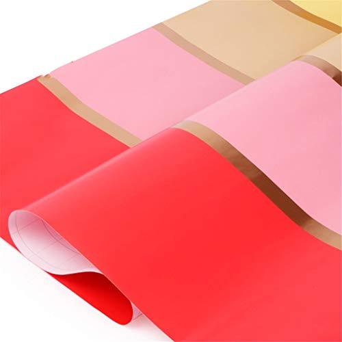 Efectos de escritorio del papel de embalaje Empalme del papel de embalaje color, tamaño grande simple regalo Caja exterior Embalaje Papel Protección libro Tienda de regalos del Día de la Madre Origami