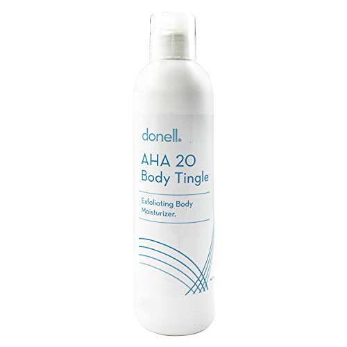 exfoliating body lotions Donell AHA 20 Face and Body Care Exfoliating Body Moisturizer Body Tingle