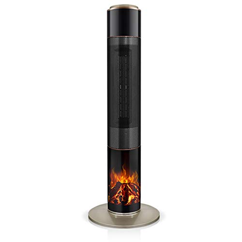 220V Torre doméstica Calentador eléctrico Sala de Estar Dormitorio Mini Calentador Calentador portátil Termostato Ajustable Calentador de convección (Color : Mechanical Model, Size : EU)