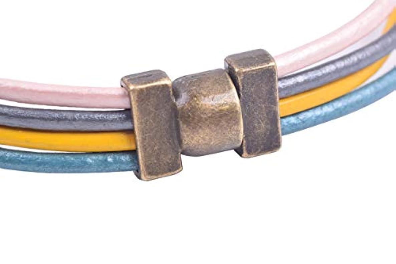 KONMAY 10 Sets 9.0X2.0mm Necklace Bracelet Magnetic Converter Clasps, Antique Brass