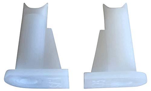 3DPLady | Titan Extruder Steering Tube (Führungsrohr für Extruder) 2er Set (weiss) passend für Artillery Sidewinder X1 / Artillery Genius