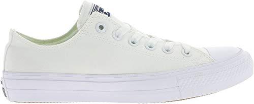 Converse Ct Ii Ox, Zapatillas Hombre, Blanco (White/white/navy), 36 EU