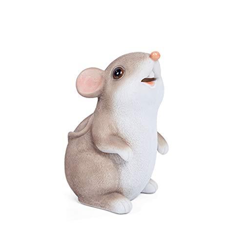 YZERTLH Hucha Hucha con Monedas formada ratón Hucha Suerte Hucha Huchas (Color : A)