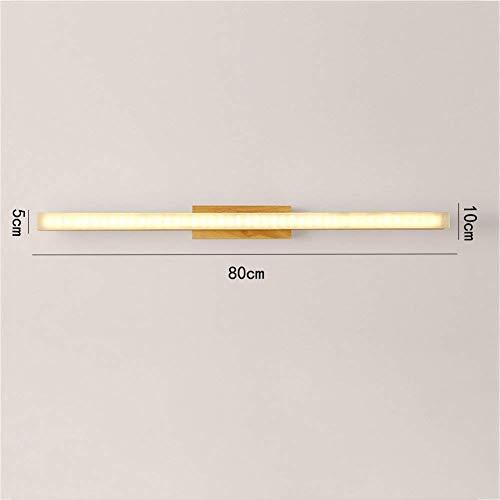 B-D huishoudlampen badkamerspiegel schijnwerper, wandlampen, spiegel kastverlichting, eenvoudige wandlampen, make-uptafel, 60 x 10 cm