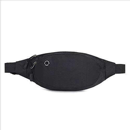 marsupio donna piccolo LOTISIE Moda Sport Tasche Esterne Tasche da Corsa Tasche per telefoni Musicali Tasche Invisibili antifurto Nere