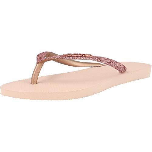 Havaianas Slim Glitter W Infradito ballet rose