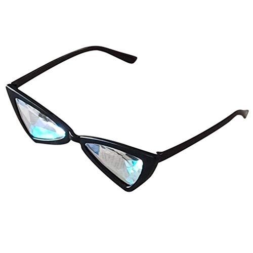KESYOO Gafas de Sol Retro Cateye Gafas de Fiesta Gafas de Protección...