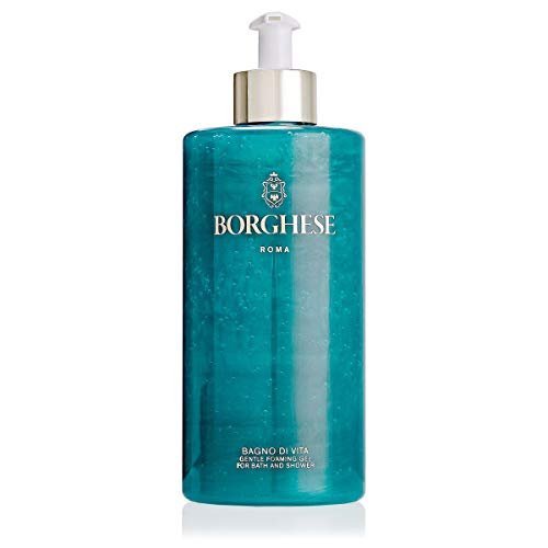 Borghese Bagno di Vita Foaming Shower Gel - Body Wash Cleanser - 15 FL Oz