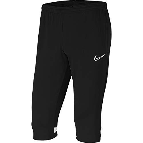 Nike CW6127 Y NK Dry ACD21 3/4 Pant KP Pants Boys Black/White/White/White XS