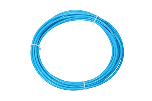 SNS Pneumatic 6mm x 4mm 10 Meters Blue Color PU Pneumatic Air Tubing Pipe Hose for Air line or Fluid Transfer