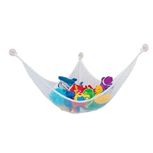 Kids Toy Hammock 140 * 90 * 90cm Stuffed Toy Storage Net Organizer with 3 Sucker Kids Toy Storage Hammock