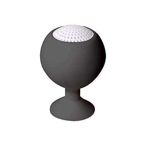LogiLink SP0029 Iceball Lautsprecher, wiederaufladbarer, Lautsprecher und Halter für Smartphone und Tablet, schwarz