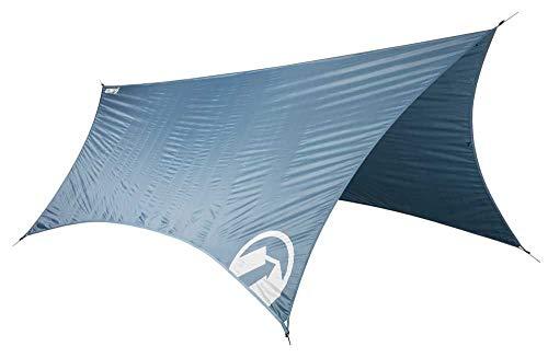 Klymit Unisex Traverse Shelter Hängematte, Regenfliege, Blau, Einheitsgröße
