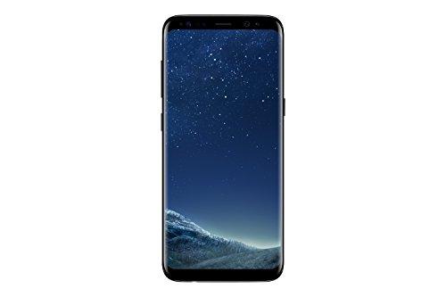 Samsung Galaxy S8 Smartphone débloqué 4G (Ecran : 5,8 pouces - 64 Go - 4 Go RAM - Simple Nano-SIM - Android Nougat 7.0) Noir (Generalüberholt)