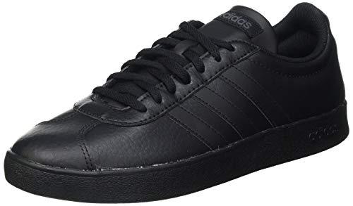 adidas VL Court 2.0, Zapatillas de Deporte Hombre, Negbás Ftwbla Grisei, 40 EU