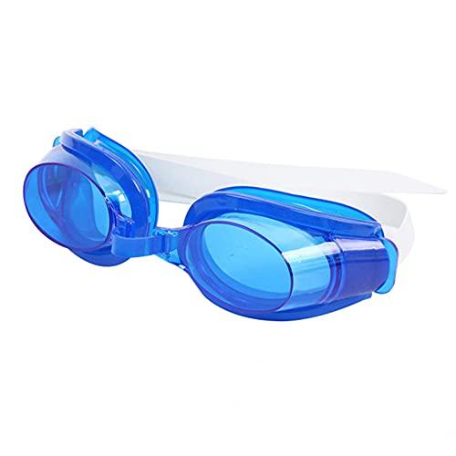 Mcottage 3Pcs / Set Adulto Unisex Antivaho Gafas De Natación Gafas Clip De Nariz Juego De Tapones para Los Oídos