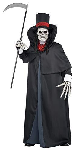 amscan - 844226-55 - Déguisement Halloween - Homme - Le Faucheur - Taille M/l