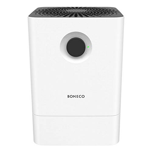 Boneco Air Washer W200 Humidifier, 4.5 L / 12.2 W, Black and White