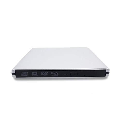 USB 3.0 External Blu-Ray DVD/BD/CD Drive, Portable Ultra-Thin 3D Blu-ray...