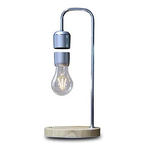 OGUAN Lámpara de Mesa de Lectura, Creativa magnético de suspensión Flotante Noche de la lámpara de Lectura de luz iluminación Nocturna 11 cm por inducción magnética * 16CM * 37CM del Clásico Noble