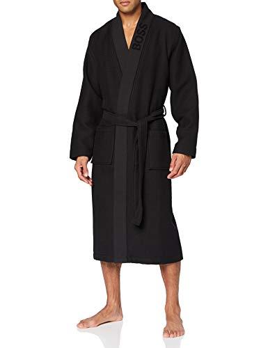 BOSS Waffle Kimono, Negro1, S para Hombre