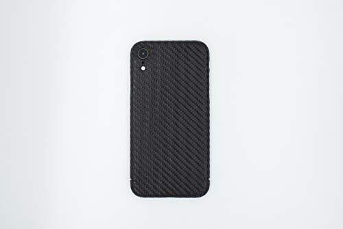 REUTERSON Apple iPhone Carbon Cover I Echte Carbon Handy-Hülle Carbon-Hülle iPhone I Ultradünne Carbon Schutzhülle stoßfest & passgenau (iPhone Magnetic Carbon Cover, iPhone XR)