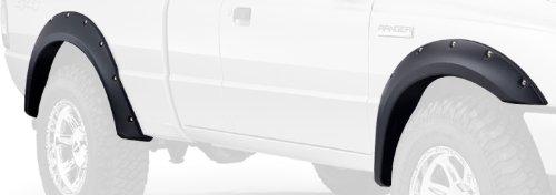 Bushwacker 21915-02 Ford Pocket Style Fender Flare - Set of 4,OE Black