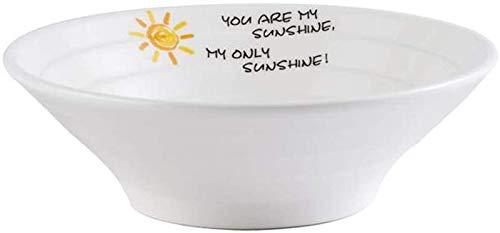 Shade Cloth SLZFLSSHPK Cuenco para Sopa Ensalada de Cuencos de cerámica Ramen Tazón Cubo tazón Grande de Frutas y Verduras Cuenco hogar Soup Bowl (Color : Sunshine, Size : 8 Inches)