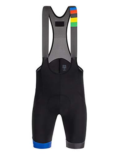 Santini UCI Beryl, Pantaloncini Uomo, Multicolore, S