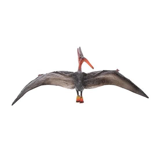 Yiju Lifelike Plastic Wild Animal Simulation Model Figures Kids Educational Toy Gift – Pteranodon