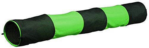 Trixie 6277 Spieltunnel für Kaninchen, ø 18 × 130 cm, anthrazit/grün
