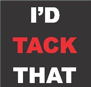 3 Pack - Welder, I'd Tack That - Sticker Graphic - Construction Toolbox, Hardhat, Lunchbox, Helmet, Mechanic & More