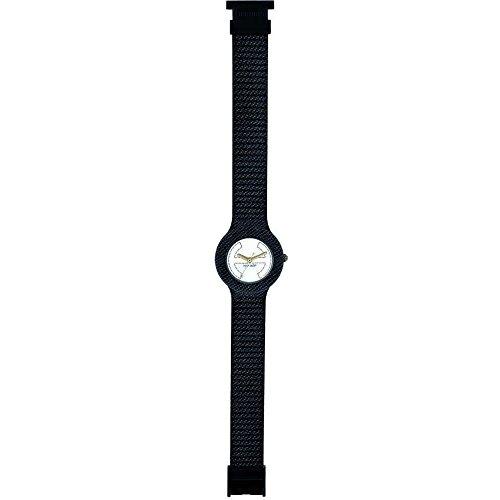 Orologio HIP HOP per donna JEANS con cinturino in silicone, tessuto, movimento SOLO TEMPO - 3H QUARZO