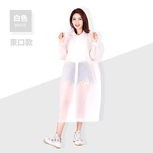 N/F Environmental Protection Lightweight Raincoat Outdoor Travel Fashion Non-disposable Thickened Adult Raincoat