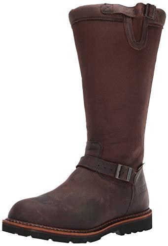Rocky womens Great Falls Waterproof Snake Knee High Boot, Dark Brown, 10 US