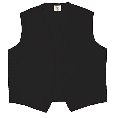 MY'S Men's 3 Piece Suit Notch Lapel One Button Blazer Slim Fit Dress Business Wedding Party Jacket Vest Pants & Tie Set Black