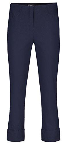 Robell Bella Slim Fit 7/8 Stretchhosen Schlupfhosen Damen Hosen #Bella versch.Farben (48, Marine)