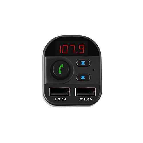 ZWwei Piezas de automóviles 805E Bluetooth Player MP3 Pantalla Digital Cargador de Coche Support U Disk Tarjeta TF Herramientas y Equipos de automóviles