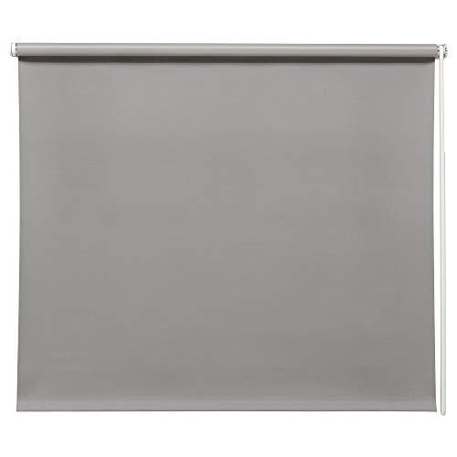 IKEA FRIDANS - Estor enrollable (140 x 195 cm), color gris