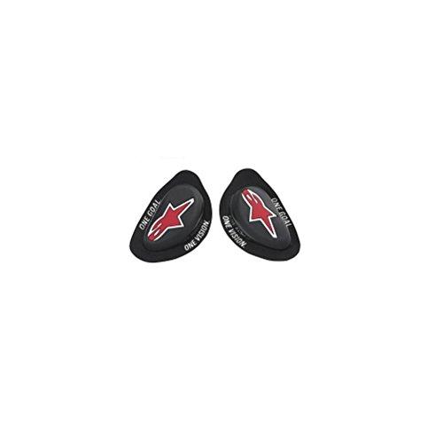 Alpinestars 64020710 64020710-Sliders per Moto, Colore: Nero, Taglia Unica