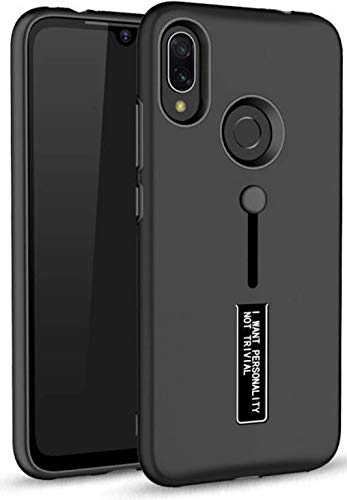 Wellpoint Designed for|Realme 3 Pro Back Cover|Realme 3 Pro Case |Realme 3 Pro Cover|Realme 3 Pro Back Case Cover (Dark Black)