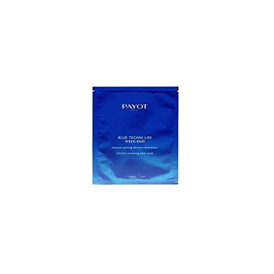 返済行列むさぼり食うパイヨ Blue Techni Liss Week-End Chrono-Renewing Peel Mask 10pcs並行輸入品