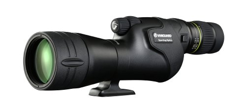 Vanguard Endeavor HD 65S - Telescopio terrestre HD 65x, Recto, Color Negro