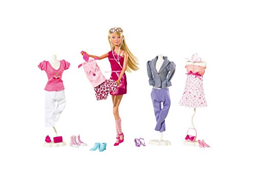 Simba - Steffi Love Mega Fashion 45 Accessori Inclusi, 3 Anni, 105736015