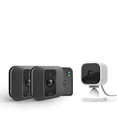Blink XT2 System mit 2 Kameras + Blink Mini Kamera