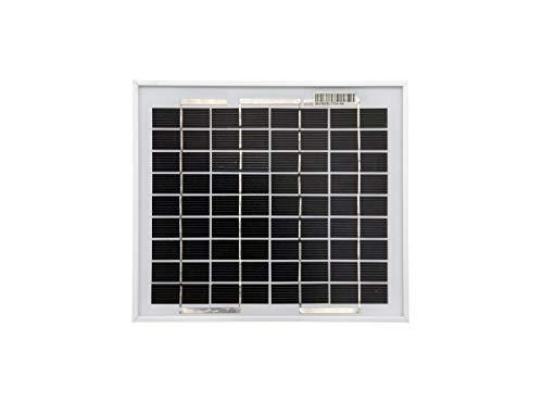 solartronics Solarmodul 5 Watt 250x220x18 Monokristallin Solarpanel Solarzelle 1 Busbar 12V Photovoltaik