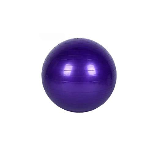 KHHGTYFYTFTY Yoga de la Bola de Ejercicio físico Equilibrio Yoga Training Class Gym Ball Core Gymball PVC 17.7inch púrpura